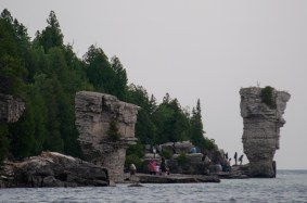 Flowerpot Island Rock Formations (1 of 1)